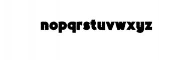 Brewok.otf Font LOWERCASE