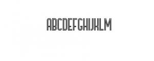 Bronco Typeface Font LOWERCASE