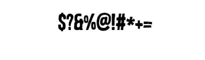 Brooklyn Coffee Custom Font Font OTHER CHARS