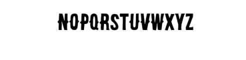 Brooklyn Coffee Custom Font Font UPPERCASE