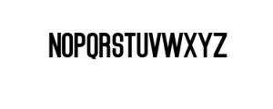 Brushelly Sans.ttf Font UPPERCASE