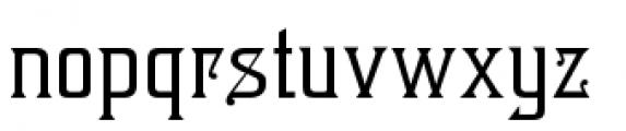 Brevet Font LOWERCASE