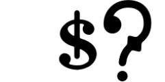 Brace Slab Font OTHER CHARS