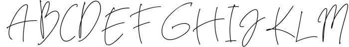 Brecelets Signature Font 1 Font UPPERCASE