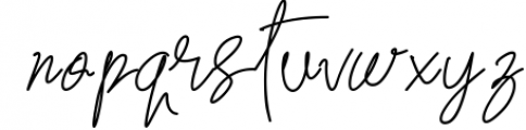 Brecelets Signature Font 1 Font LOWERCASE
