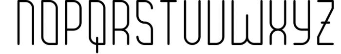 Brengkel - Condensed Font 1 Font UPPERCASE