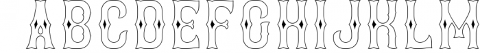 Brewery 3 Font UPPERCASE