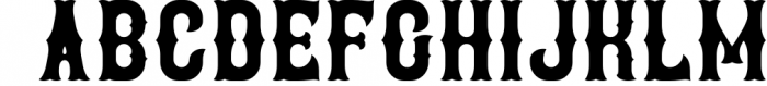 Brewery 4 Font LOWERCASE