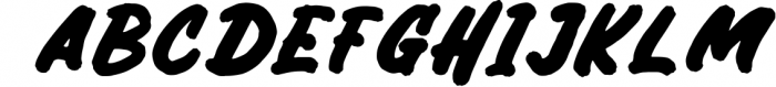 Bricktoms SVG & REGULAR Font LOWERCASE