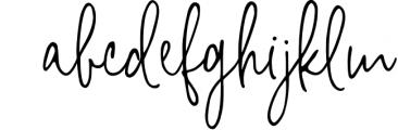 Bright side signature script font+ logos Font LOWERCASE