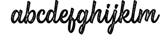 Brightside Font LOWERCASE