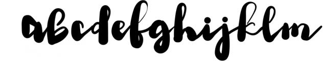 Brioche - Bold Script Typeface 1 Font LOWERCASE