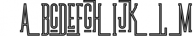 Brooklyn Typeface Font UPPERCASE