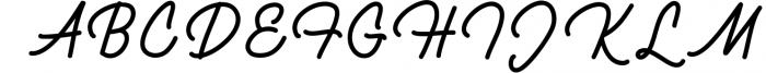 Brulle monoline font Font UPPERCASE