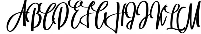 BrushWork TypeFace 1 Font UPPERCASE