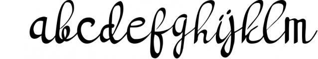 bright light script handwritten font Font LOWERCASE