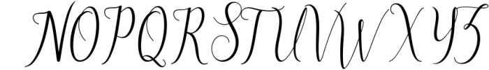 brillyo script 1 Font UPPERCASE
