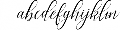 brillyo script Font LOWERCASE