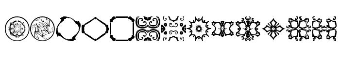 BR Nouveau Ramblings 2 Font LOWERCASE