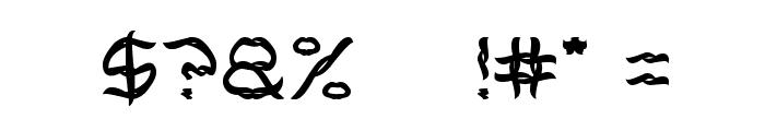 BRACELET Font OTHER CHARS