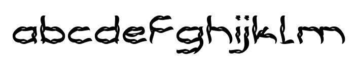 BRACELET Font LOWERCASE