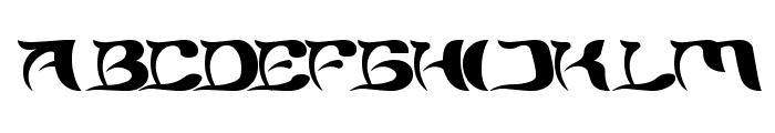 BRAIN STORM Font UPPERCASE