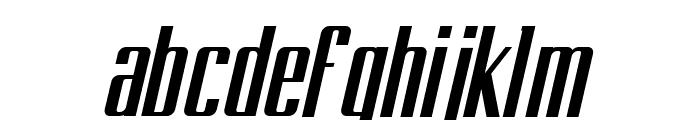 BRANCHE Italic Font LOWERCASE