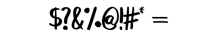 BREAK BEACH Font OTHER CHARS