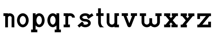 BRIAN WORTH Font LOWERCASE