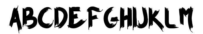 BROWN FOXY Personal Use Only Font LOWERCASE
