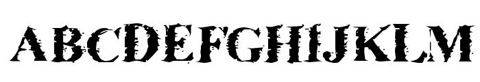 Brackish Font UPPERCASE