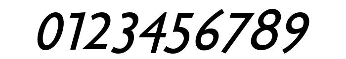 Bradbury-Oblique Font OTHER CHARS