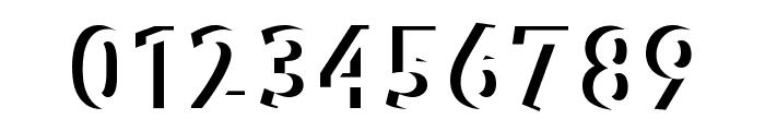 BradburysBoldShadow Font OTHER CHARS