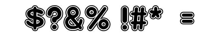 Bradlies Font OTHER CHARS