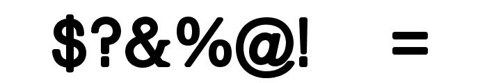 Braggart-Regular Font OTHER CHARS