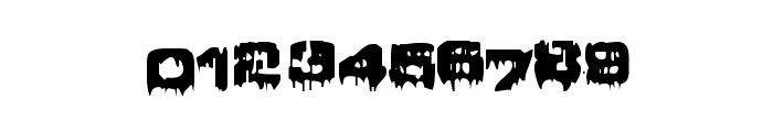 Brain Damage Font OTHER CHARS