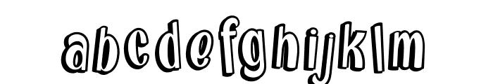 Brainfish Rush_PersonalUseOnly Font LOWERCASE