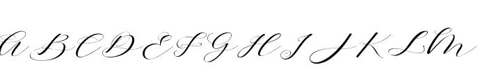 Brainlove Font UPPERCASE