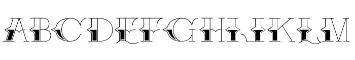 Brake Fluid Font LOWERCASE