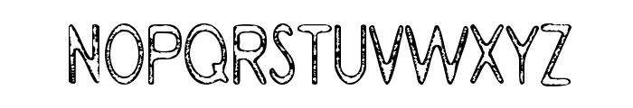BramaleaBeauty-Regular Font UPPERCASE