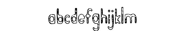 BramaleaBeauty-Regular Font LOWERCASE