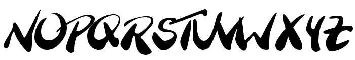 BranchingMouse Becker Font UPPERCASE