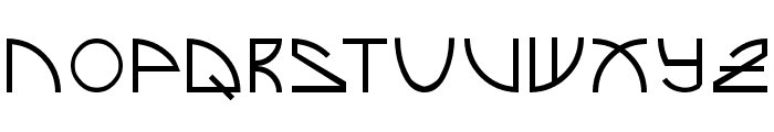 Brand New Font LOWERCASE