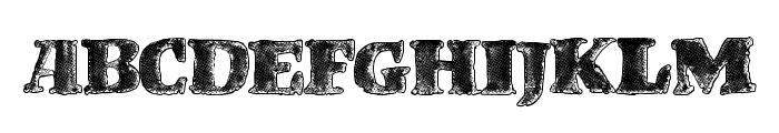 BrandStruck Font UPPERCASE