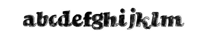 BrandStruck Font LOWERCASE