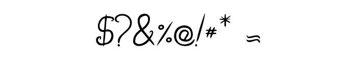 Brandalls Font OTHER CHARS