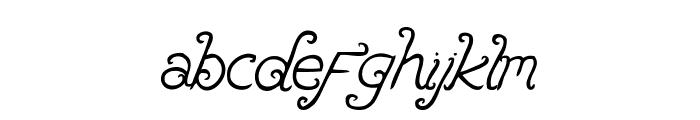 Brandalls Font LOWERCASE