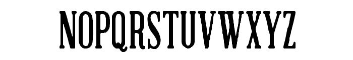 Brandals Font UPPERCASE