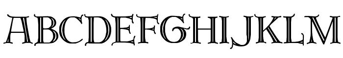 Brandegoris Font UPPERCASE