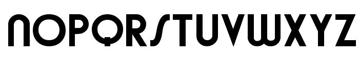 Brandish Regular Font UPPERCASE